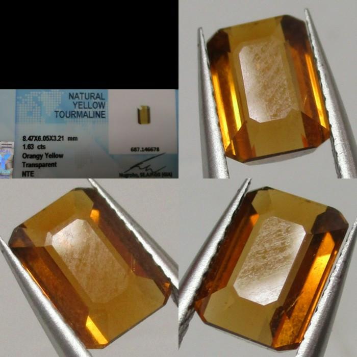 harga Batu permata yellow turmaline natural with memo Tokopedia.com