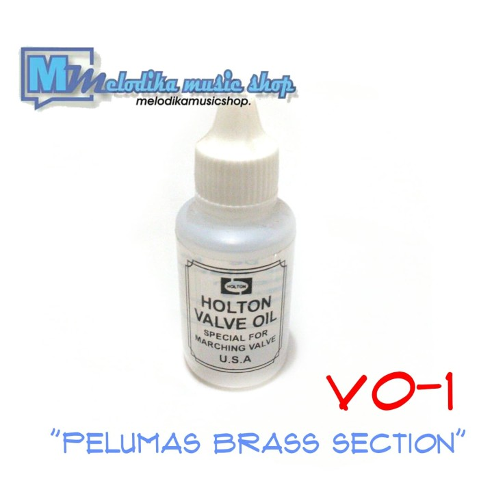 harga Minyak pelumas terompet / trombone / saxophone / tuba / brass section Tokopedia.com