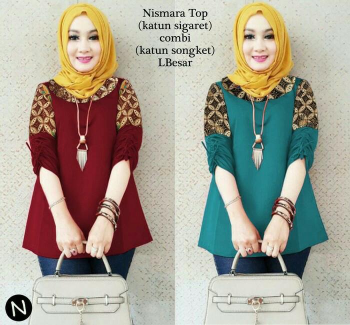 Tunic remaja murah/ baju kantor/office wear/tunik muslim/blouse katun