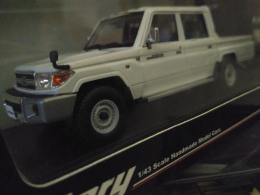 Toyota Land Cruiser 70 >> Diecast Toyota Land Cruiser 70 Prado Putih