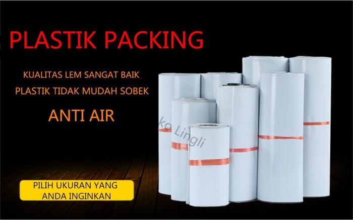 Foto Produk Plastik Packing / Polybag / White Polybag / Plastik Lem / ukuran55x70 dari tokolingli
