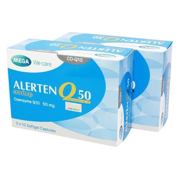 Alerten Q50 Coenzyme Q10 Sebagai Antioksidan Dan Menambah Energi - Blanja.com