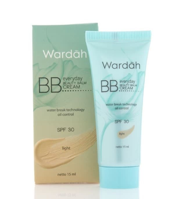 Wardah Bb Everyday Beauty Balm Cream Spf 30 Light Isi 15ml - Blanja.com