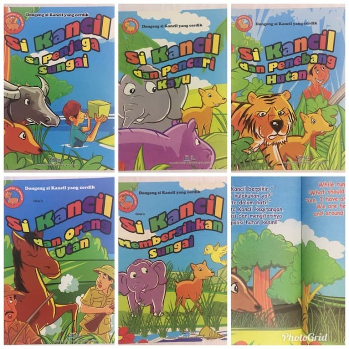 Jual Buku Cerita Si Kancil Bilingual Buku Anak Lebar So Kota Bekasi Kinantikomik Tokopedia
