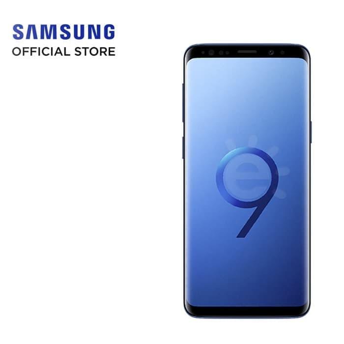 Samsung Galaxy S9+ Coral Blue Garansi Resmi SEIN