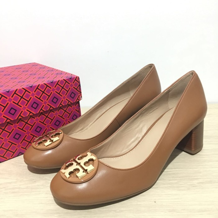 1dd7dd244c8 Jual sepatu tory burch janey 50mm pump royal tan size 8 - Valerie s ...