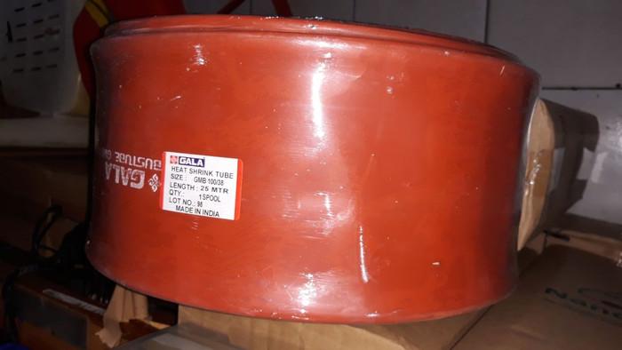 harga Heat shrink busbar 100/38 up 35kv warna merah bata per meter merk gmb Tokopedia.com