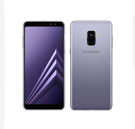 Samsung A8 2018 - Garansi Resmi SEIN - Orchid Gray
