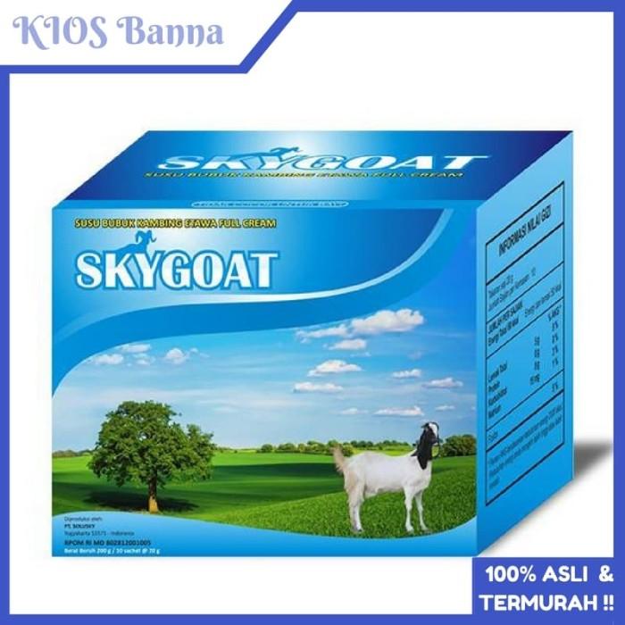 Susu Kambing Skygoat Bubuk Full Cream 1 Box Isi 10 Original Termurah