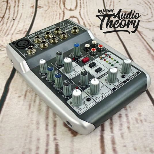 harga Audio mixer behringer xenyx q502usb / q 502 usb with usb interface Tokopedia.com