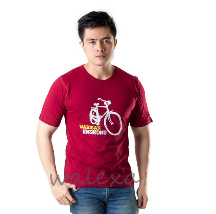 Kaos Distro Warisan Engkong T Shirt Maroon - harga Produk Terbaru Di ... 2177944789