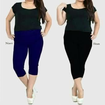 Jual Celana Legging Pendek Jumbo Kota Bandung Winata Collection Tokopedia