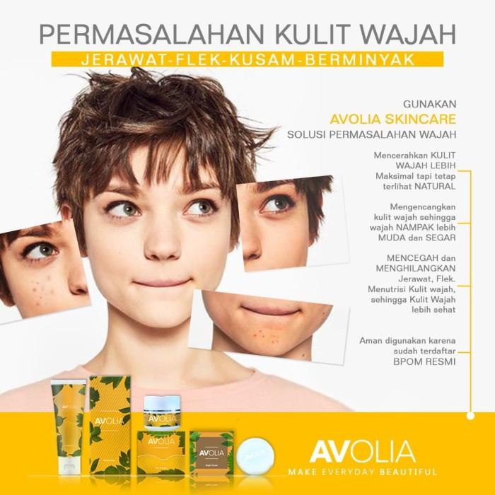 Official Distributor Resmi Pratista Skincare Aman Bpom: Jual Paket Premium Avolia Skin Care Aman Bersertifikat