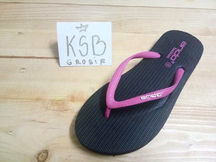 harga Sandal jepit ando wanita/sandal jepit karet wanita/sandal flat teplek Tokopedia.com