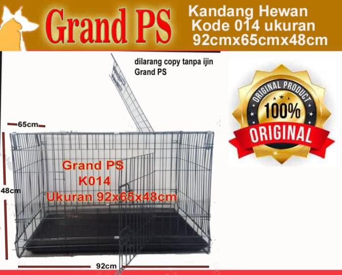 harga Kandang besi 014 lipat p 92cm l 65cm t 58cm Tokopedia.com