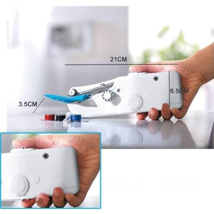 harga Handy stitch / mesin jahit genggam mini portable / sewing machine new Tokopedia.com