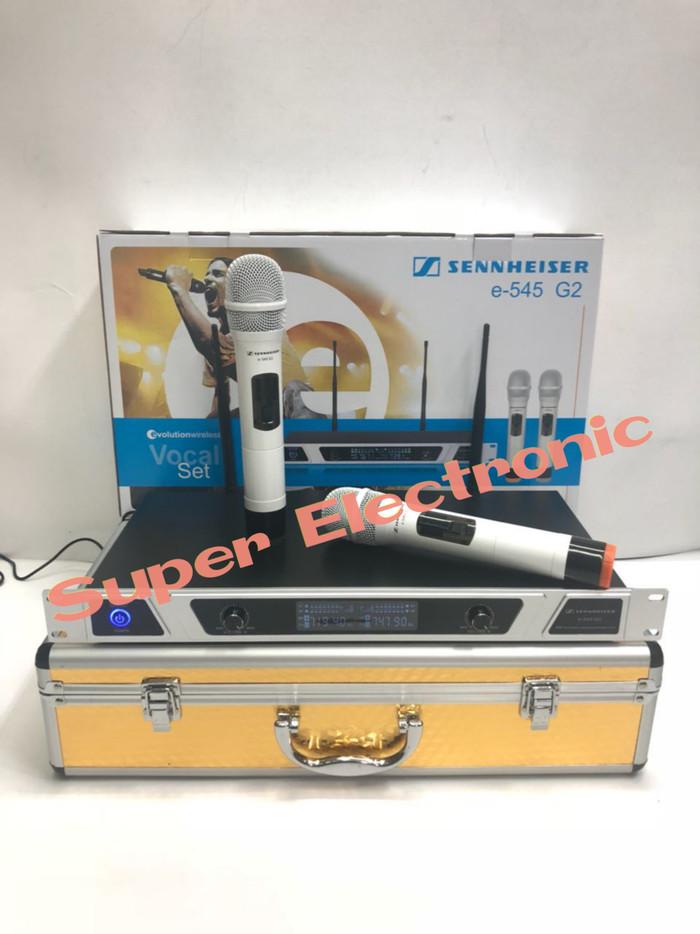 harga Mic wireless sennheiser ew 545 g2 wireless mic uhf Tokopedia.com