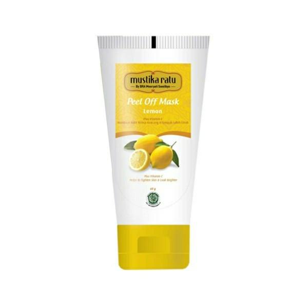 Mustika Ratu Peel Off Mask Lemon 60 gram