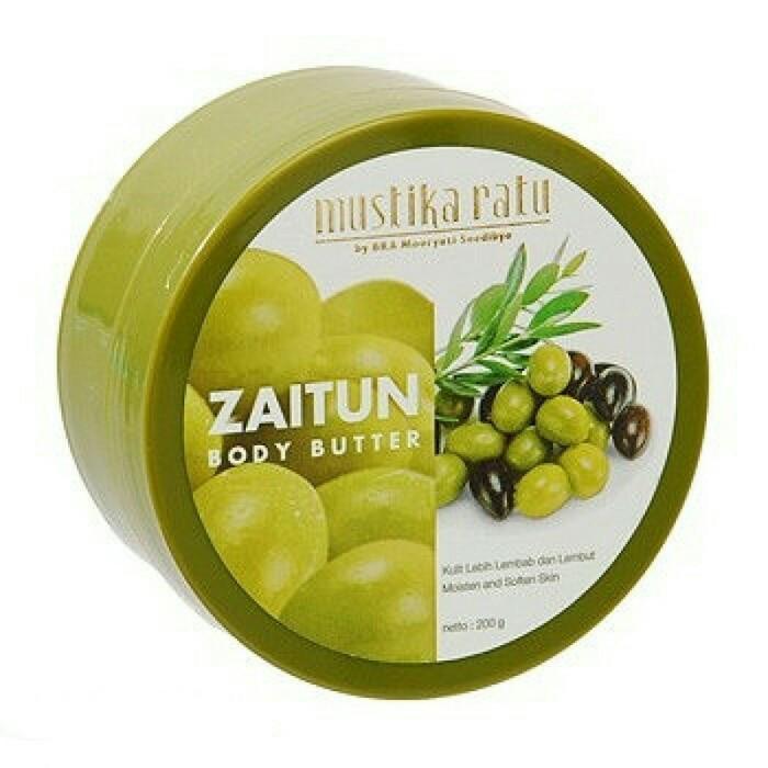 harga Mustika ratu zaitun body butter Tokopedia.com
