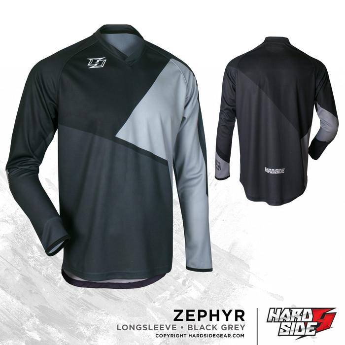 harga Jersey sepeda /motocross big size zephyr black grey Tokopedia.com