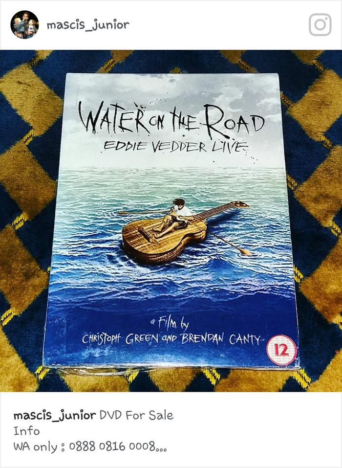 Jual DVD Eddie Vedder Live - Water On The Road ex  Pearl Jam - DKI Jakarta  - Mascis Junior   Tokopedia