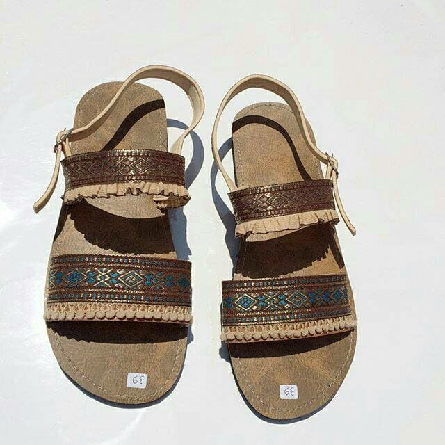 harga Sandal boho / sepatu sandal / sendal etnik Tokopedia.com