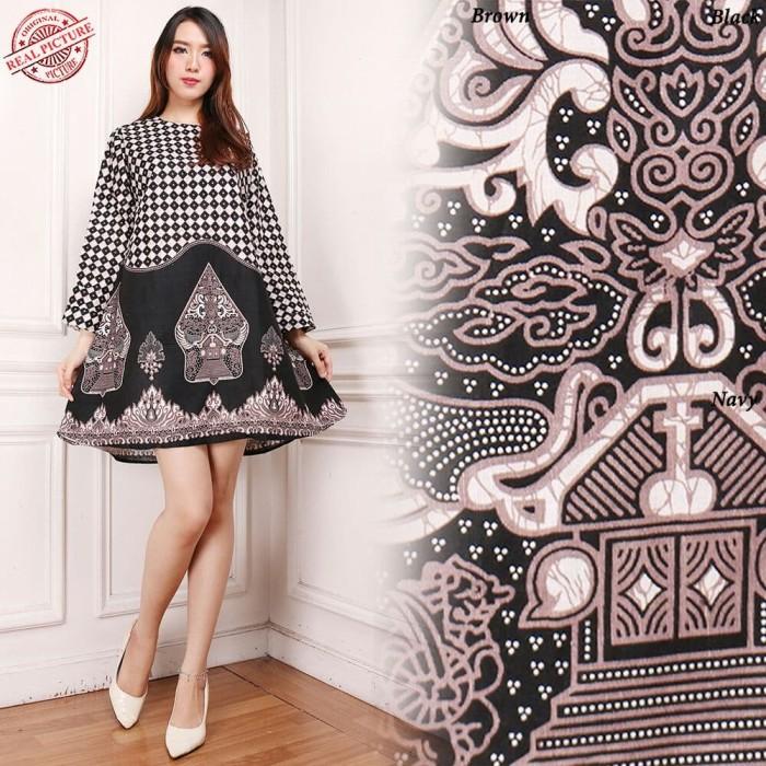 harga Tiana dress maxi pendek wanita bhn katun batik m - xl Tokopedia.com