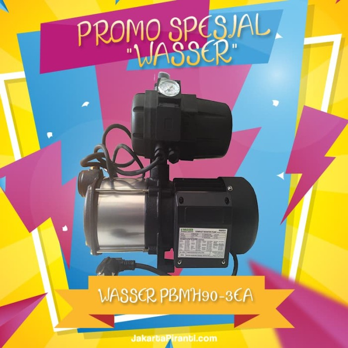 Pompa Wasser PBMH90-3EA Pompa Dorong Booster Pump - PROMO SPESIAL