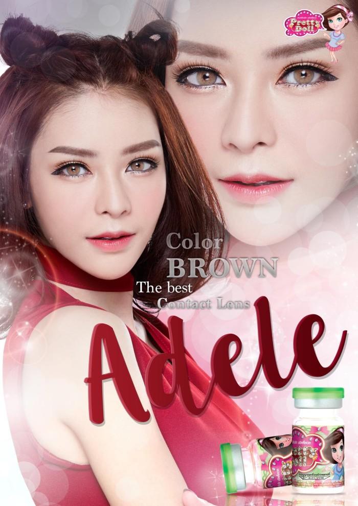 Jual Softlens Prettydoll Adele Brown (Coklat) - Geo Eyes  10307b952b