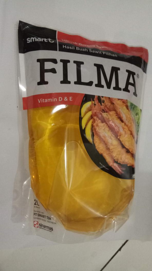 harga Minyak goreng filma 2 liter pouch Tokopedia.com