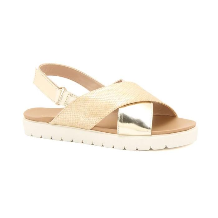 Sandal wanita gabino emily gold - emas 36