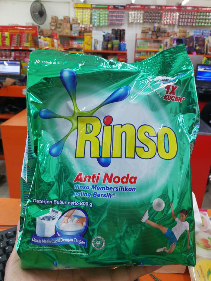 ... Detergent Source RINSO ANTI NODA 800GR Sabun DETERJEN RINSO BUBUK CUCI BAJU
