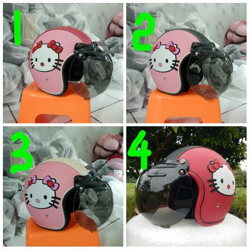 harga Helm kulit bogo retro dewasa Tokopedia.com