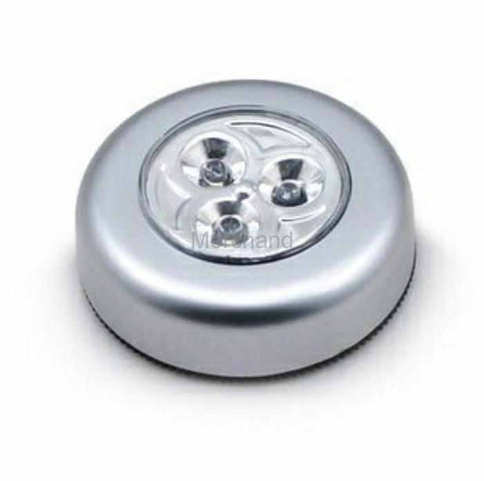 NEW Stick Touch Lamp Lampu Darurat Sederhana Tempel dan Tekan RECOMEN