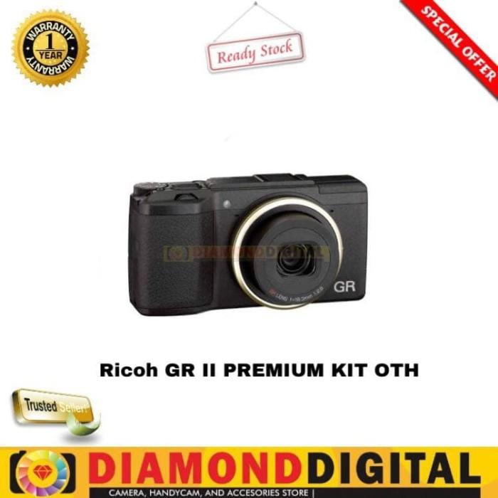RICOH GR II PREMIUM KIT OTH - RICOH GR II DIGITAL CAMERA