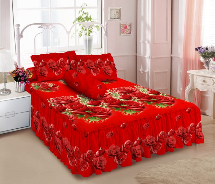 Kintakun d'luxe sprei rumbai - 180 x 200 b2 (king) - irmi