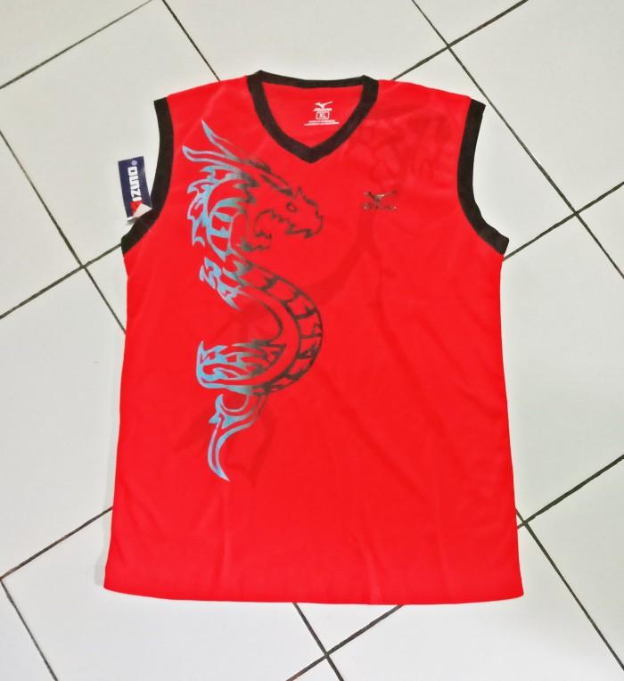 Rompi Singlet Jersey Kostum Seragam Futsal sepakbola Volly Mizuno.