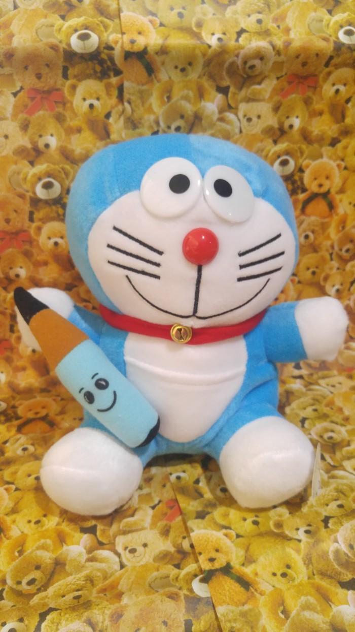 Jual Boneka Doraemon Pegang Pensil 8694 Kota Surabaya Shopwithluv