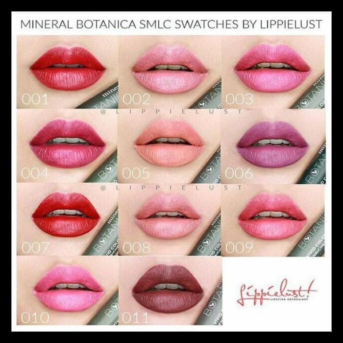 Soft Mate Lip Cream (Lipstik, Mineral Botanica, Smlc,
