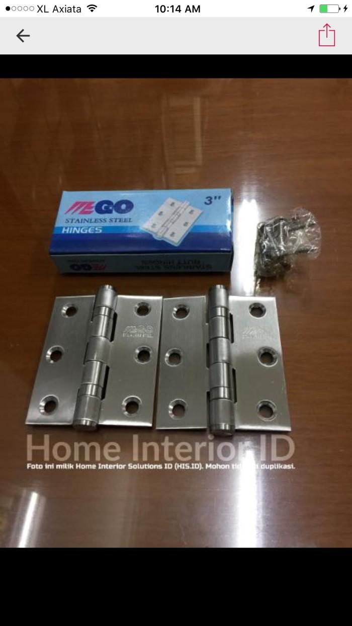 Jual Engsel Jendela Hinge Engsel Pintu 3 Inch Stainless Steel Jakarta Barat Home Interior ID