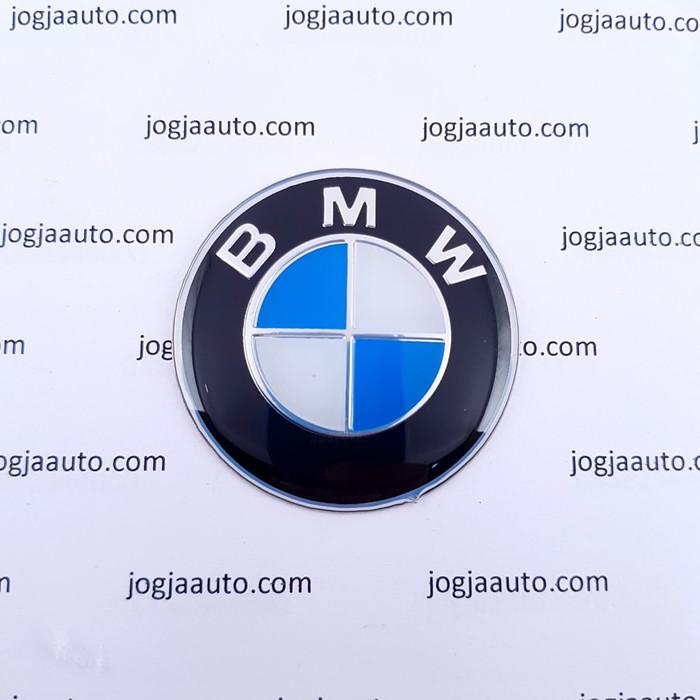 Foto Produk Emblem Stir BMW Biru Putih ukuran 45mm dari jogjaauto