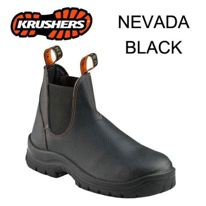 harga Sepatu saftey krushers nevada black/brown original Tokopedia.com