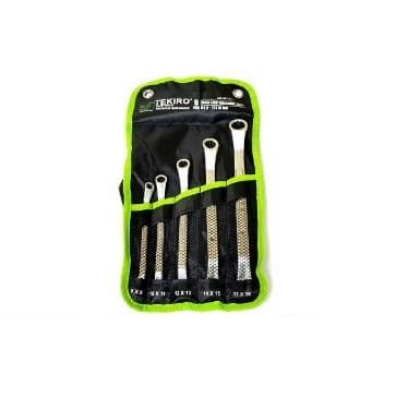 Tekiro Kunci Ring Set 5 pcs 8 to 19 mm - Box End Wrench