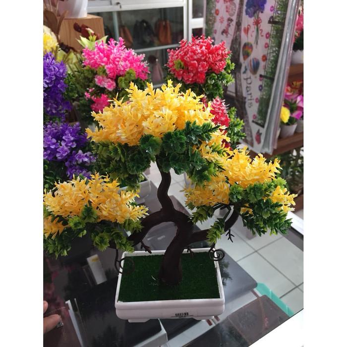 ... harga Bonsai pohon artificial warna - tanaman plastik hias dekorasi  Tokopedia.com 1d2441dfb9