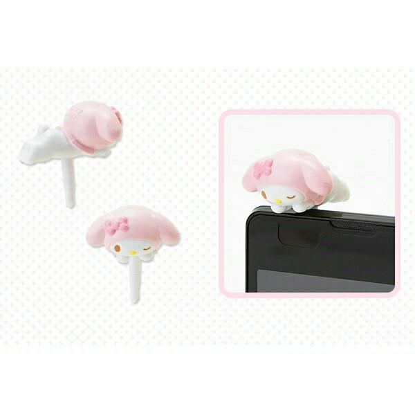 harga Sanrio my melody 3,5 jack audio anti dust plug pink ribbon - pluggy hp Tokopedia.com