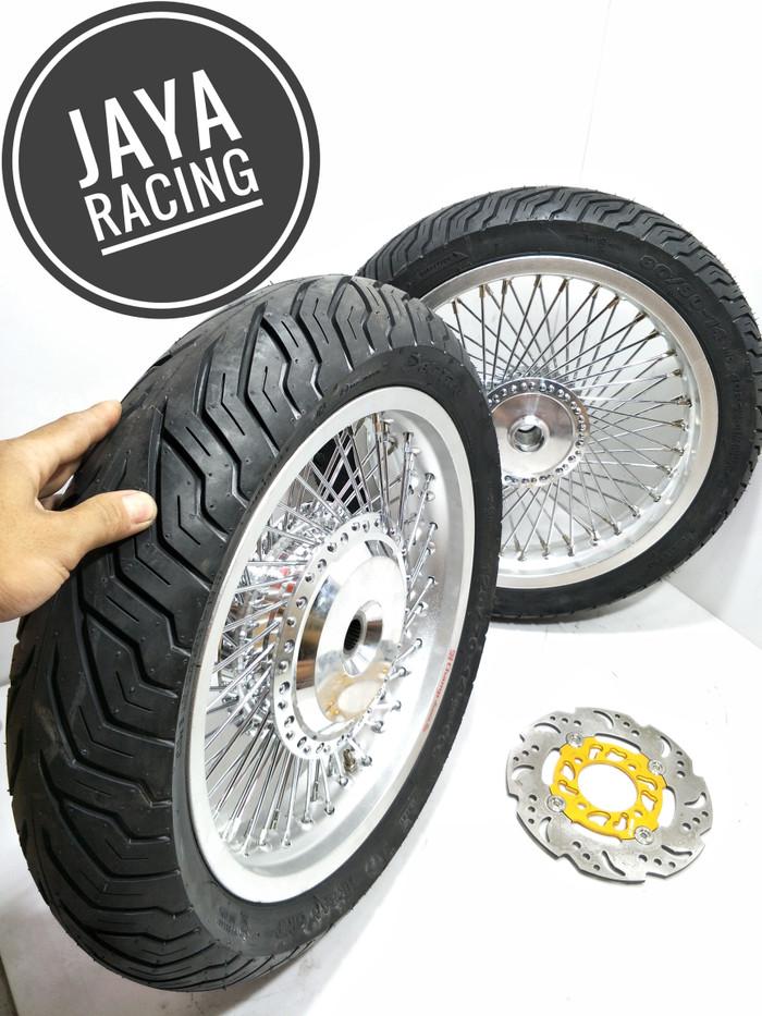 harga Velg custom ring 14 lebar 250 215 plus ban mio - xeon - beat - mio m3 Tokopedia.com