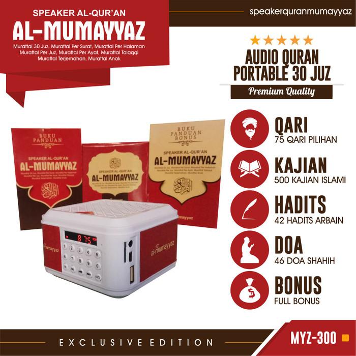 harga Speaker quran al-mumayyaz myz-300 16gb Tokopedia.com