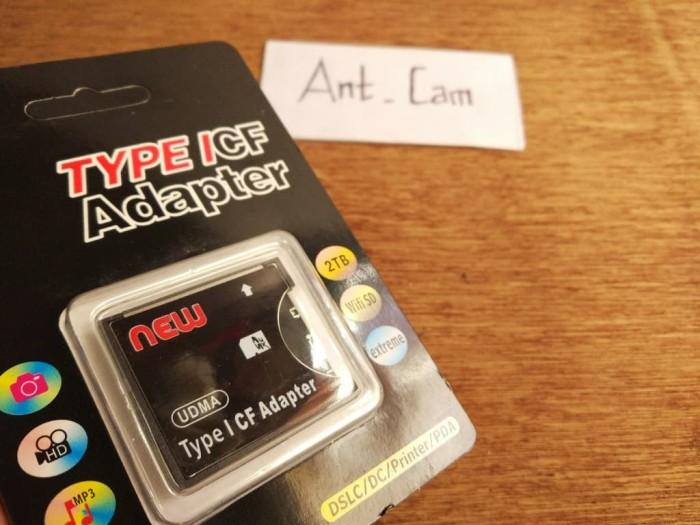 harga Adapter memori sdhc to compact flash cf bukan sandisk transcend Tokopedia.com