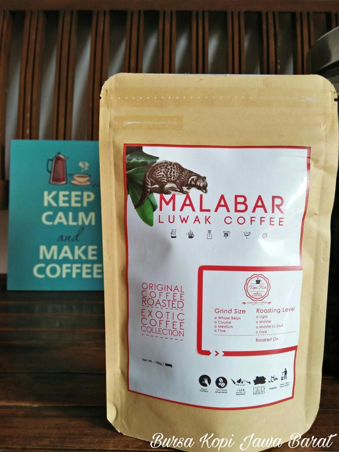 harga Malabar luwak coffee-100gr Tokopedia.com
