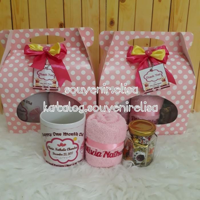 Jual Hampers Souvenir One Month Souvenir Baby Born Jakarta Barat Yei Collection Tokopedia